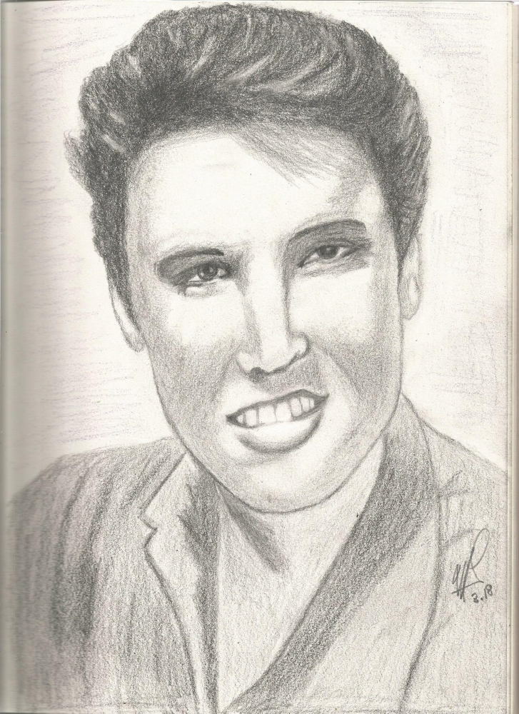 Elvis Presley by maliloux